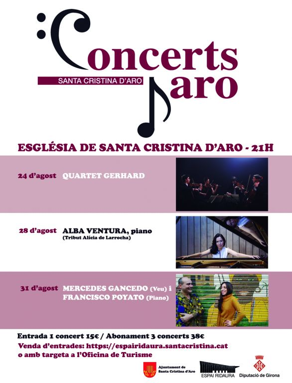 Cartell Concerts dAro